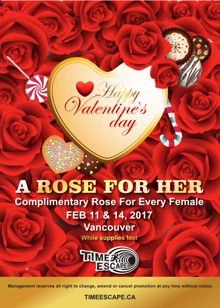 Valentine's Day Sale - 2017 Escape Room Games Promotion